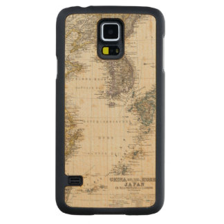 China, Korea, Japan Carved Maple Galaxy S5 Case