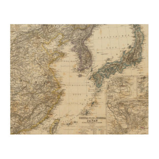 China, Korea, Japan Wood Wall Decor