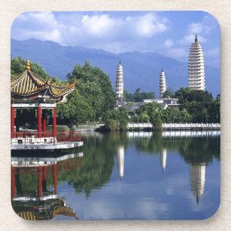 China Lake Drink Coasters