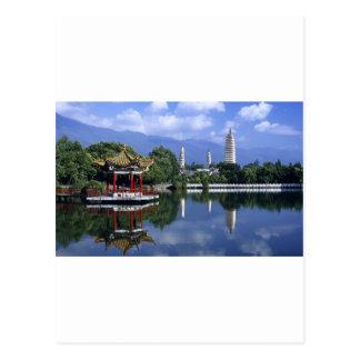 China Lake Postcard
