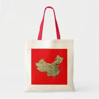 China Map Bag