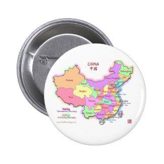 China Map Button
