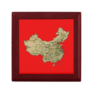 China Map Gift Box