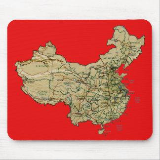 China Map Mousepad