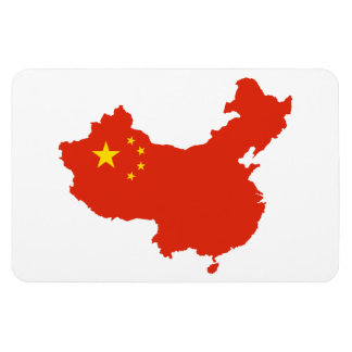 CHINA MAP FLEXIBLE MAGNET