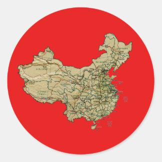China Map Sticker