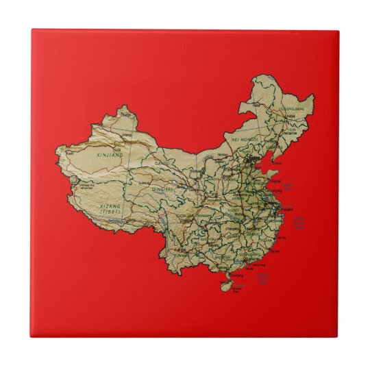 China Map Tile