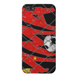 China MMA Skull Black iPhone 4 Case