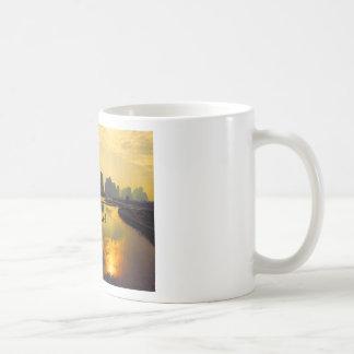 China Mountain Lake Exotic Scenery Coffee Mug