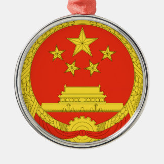 China National Emblem Christmas Ornament