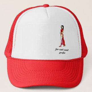 china pin up trucker hat