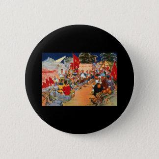 China Propaganda Art 6 Cm Round Badge