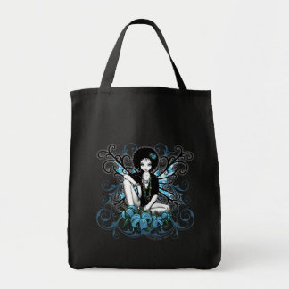 China Retro Lilly Fantasy Canvas Bag