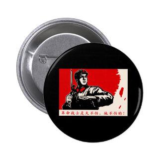 China Revolution 6 Cm Round Badge