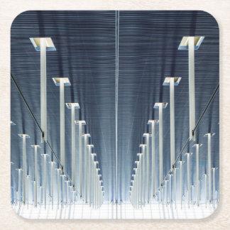 China, Shanghai | Pudong International Airport Square Paper Coaster