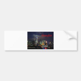 china shanghai (St.K) Bumper Sticker