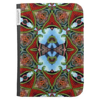China Symbol of Tokens Kaleidoscope Kindle Folio Cases