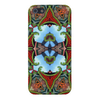 China Symbol of Tokens Kaleidoscope Case For The iPhone 5