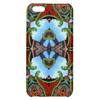 China Symbol of Tokens Kaleidoscope iPhone 5C Covers
