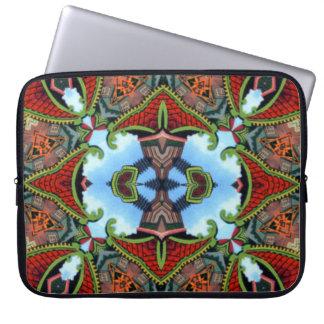 China Symbol of Tokens Kaleidoscope Laptop Sleeves