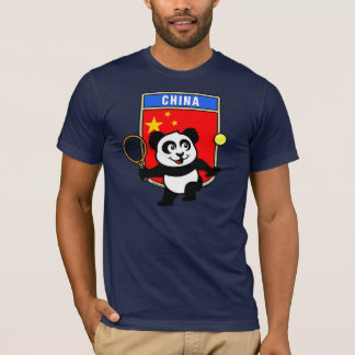 China Tennis Panda T-Shirt