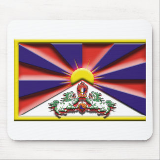 China: Tibet (artist flag) Mouse Pad