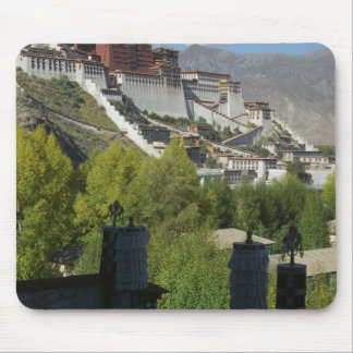China, Tibet, Lhasa, Potala Palace 2 Mouse Pad