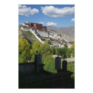 China, Tibet, Lhasa, Potala Palace 2 Photo Print