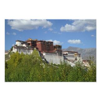 China, Tibet, Lhasa, Potala Palace 3 Photo Print