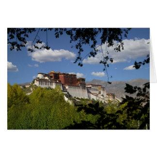 China, Tibet, Lhasa, Potala Palace Card