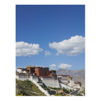 China, Tibet, Lhasa, Potala Palace Postcard