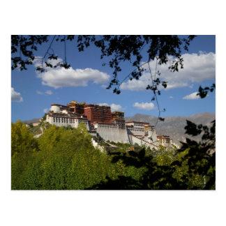 China, Tibet, Lhasa, Potala Palace Postcard
