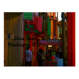 China Town Washington D C Postcard