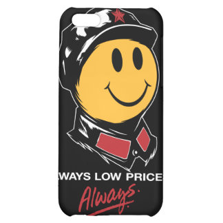 china walmart smiley face mao always low prices iPhone 5C case