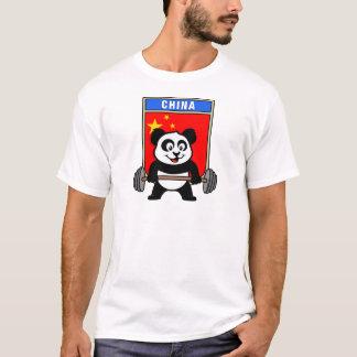 China Weightlifting Panda T-Shirt