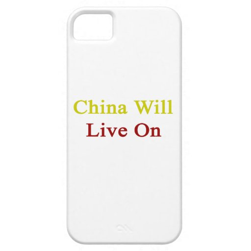 China Will Live On iPhone 5 Cases