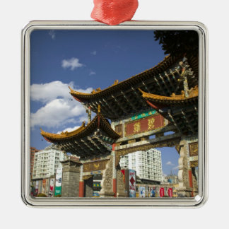 CHINA, Yunnan Province, Kunming. Memorial Arch Christmas Ornament