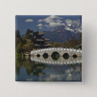 CHINA, Yunnan Province, Lijiang. Lijiang Old 15 Cm Square Badge