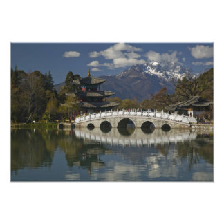 CHINA, Yunnan Province, Lijiang. Lijiang Old Photo Print