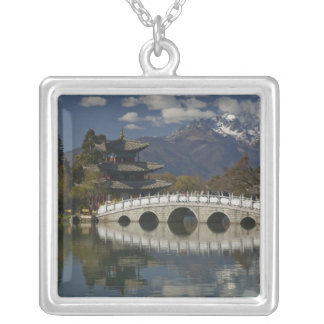 CHINA, Yunnan Province, Lijiang. Lijiang Old Silver Plated Necklace