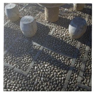 CHINA, Yunnan Province, Lijiang. Old Town, Stone Tile