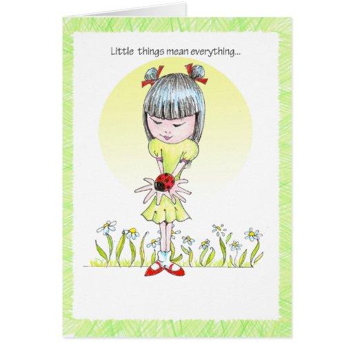 ChinaGirl Notecard Cards