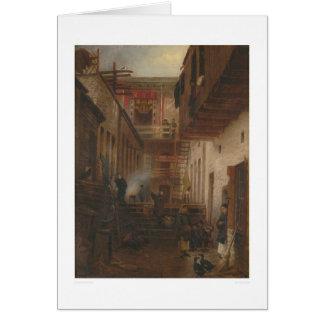 Chinatown Alley, Sing Yuen Washing & Ironing(1228) Greeting Card
