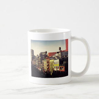 Chinatown From Above Coffee Mugs