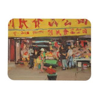 Chinatown New York 2012 Rectangular Photo Magnet