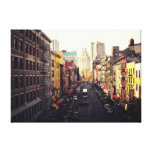 Chinatown New York City Gallery Wrap Canvas