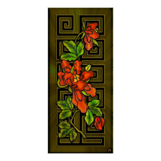 Chinatown Orchids Part 2 (Fine Art Poster)