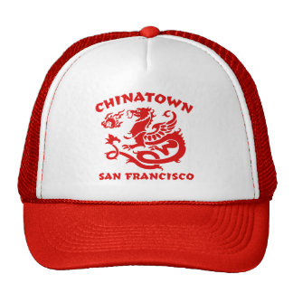 Chinatown San Francisco Hats