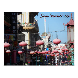 Chinatown San Francisco Postcard