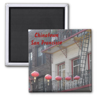 Chinatown San Francisco Square Magnet